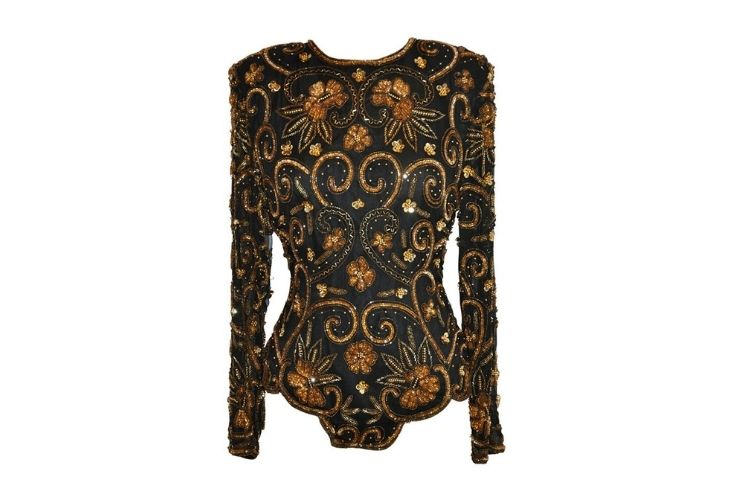 Best Beaded Evening Tops